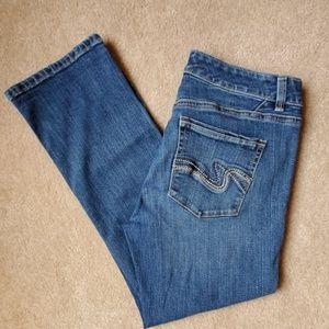 White House Black Market crop jeans size 6
